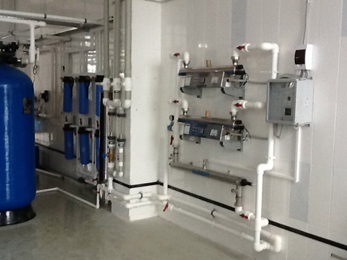 Установка УФ стерилизация воды